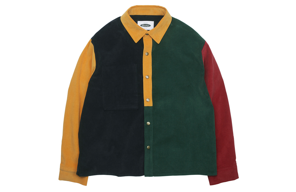 16's Corduroy Mix Shirts-Jacket (multi)