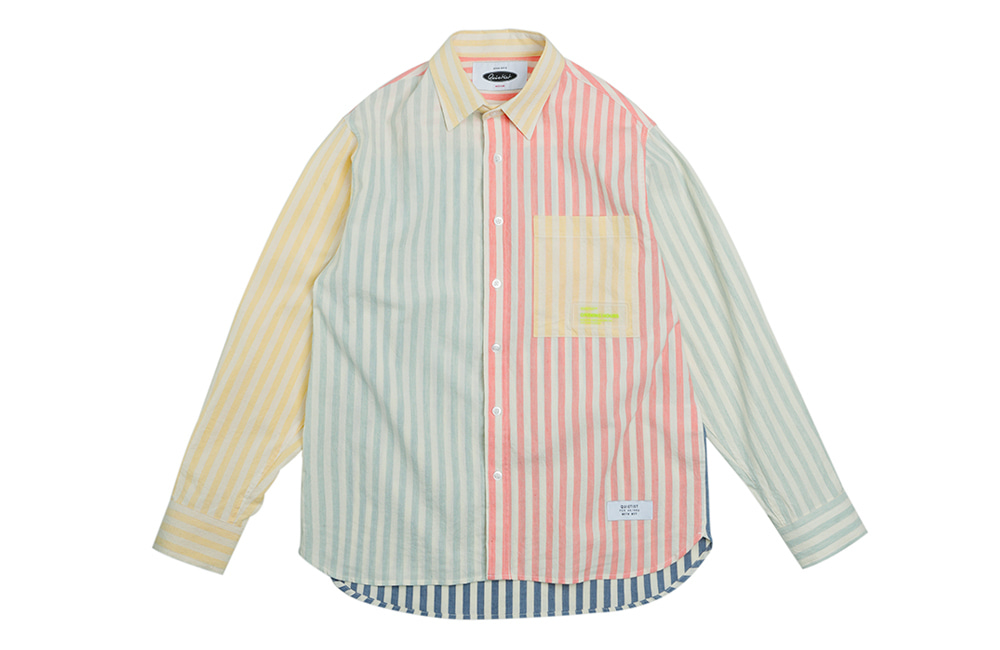 Multi-stripe Ombre Shirts (mix)
