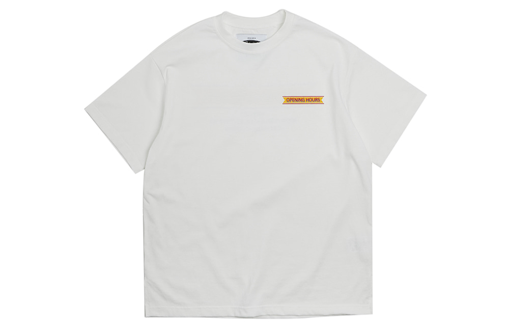 Opening Hours OG T-shirts (white)