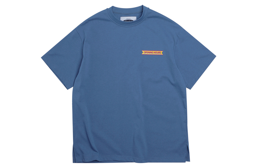 Opening Hours OG T-shirts (teal)