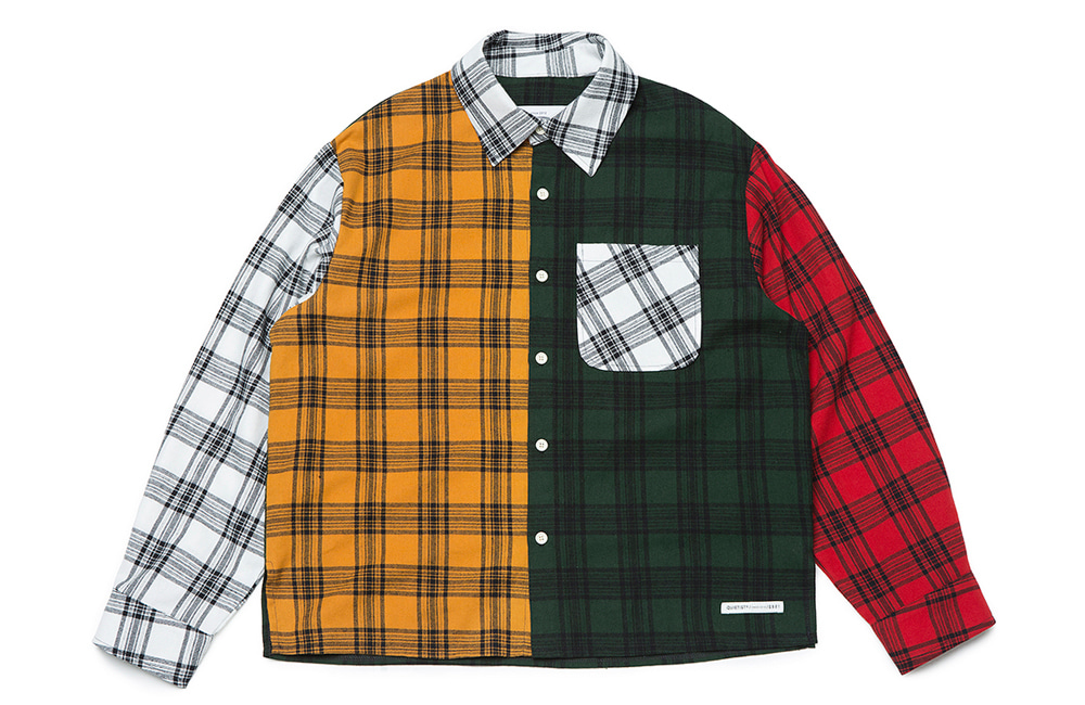 Flannel 4-Panel Mix Shirts (multi)