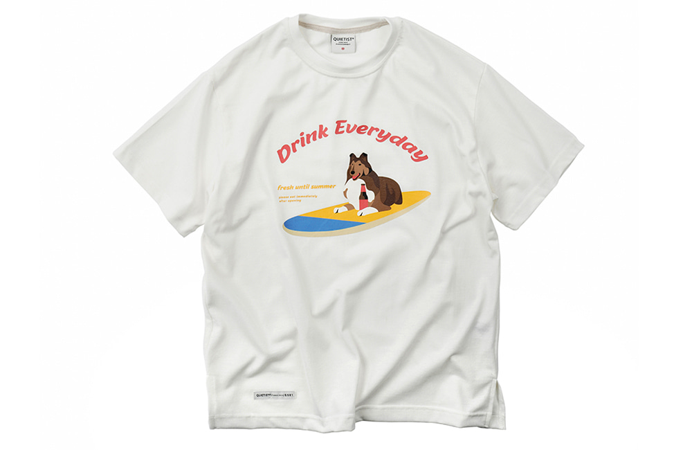 Surfing dogs T-Shirts (white)