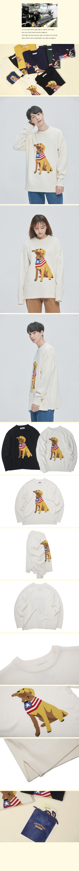 콰이어티스트(QUIETIST) 리트리버 바이트 스웨터 (ivory)