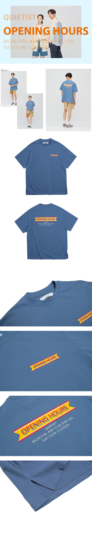 콰이어티스트 Opening Hours OG T-shirts (teal)